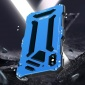 新款适用iPhonexr防水手机壳x/xs防水防尘防摔纯色金属硅胶保护套